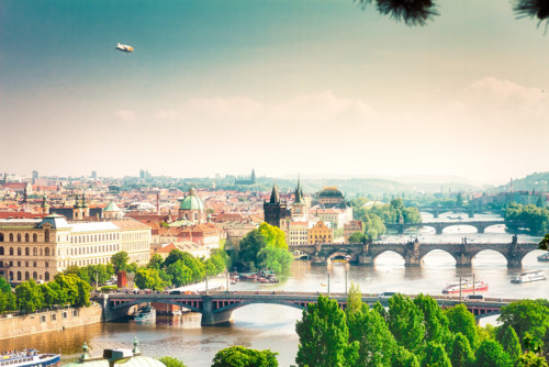 Prague Cityscapes - Bridges