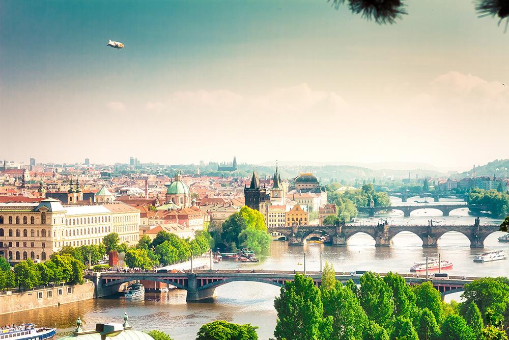 Prague Cityscapes - Bridges
